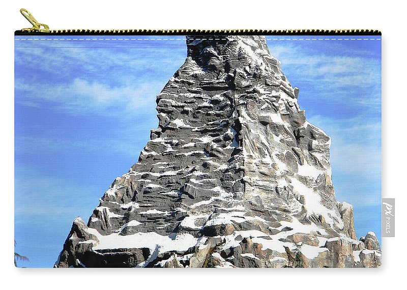 Disneyland Carry-all Pouch featuring the photograph Matterhorn Peak by Heather Hollingsworth