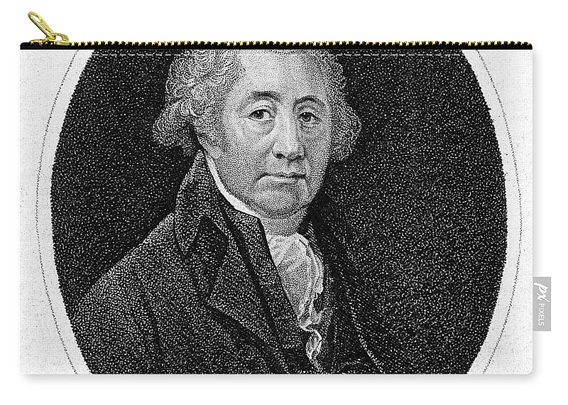 Historic Carry-all Pouch featuring the photograph Matthew Boulton, English Manufacturer by Wellcome Images
