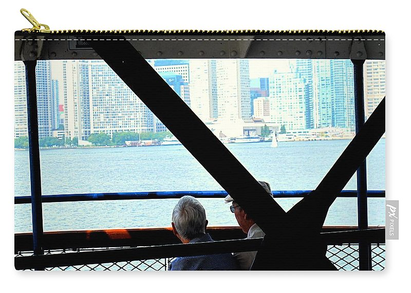 Toronto Carry-all Pouch featuring the photograph Mature Love by Ian MacDonald