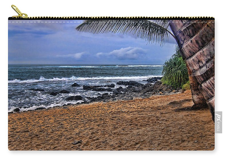 Maui Hawaii Carry-all Pouch featuring the photograph Maui Beach by Jon Berghoff