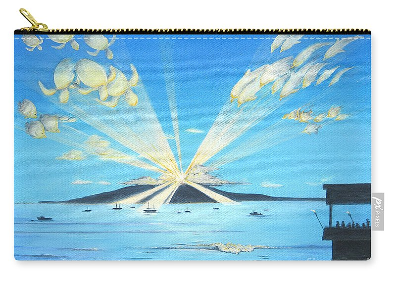 Maui Carry-all Pouch featuring the painting Maui Magic by Jerome Stumphauzer