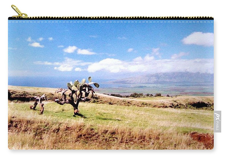 1986 Carry-all Pouch featuring the photograph Maui Upcountry by Will Borden