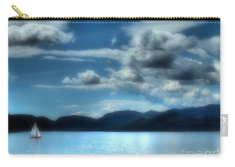 Lake Carry-all Pouch featuring the photograph May 30 2010 by Tara Turner