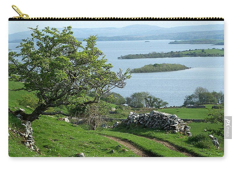 Ireland Carry-all Pouch featuring the photograph May The Road Rise To Meet You by Teresa Mucha