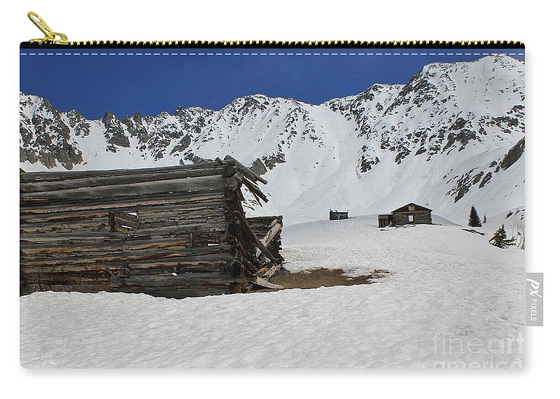 Nature Carry-all Pouch featuring the photograph Mayflower Gulch Winter 3 by Tonya Hance