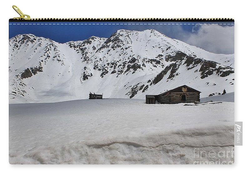 Nature Carry-all Pouch featuring the photograph Mayflower Gulch Winter 4 by Tonya Hance