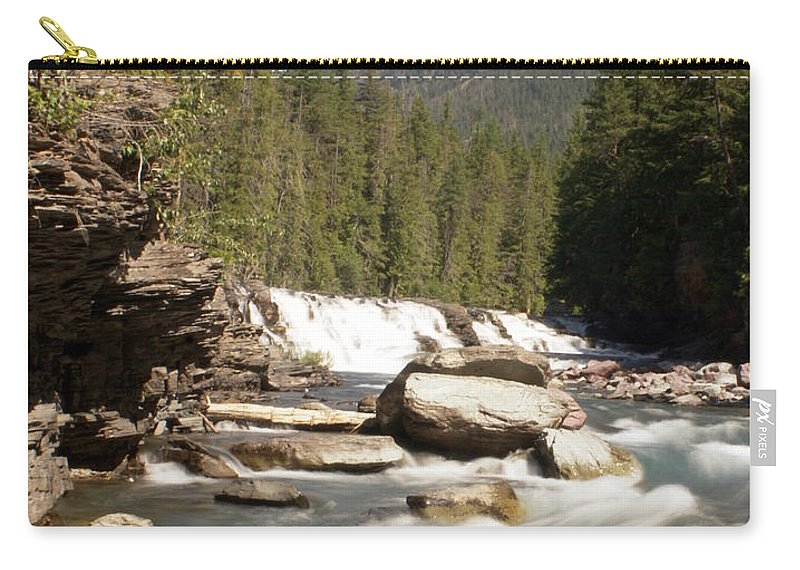 Montana Carry-all Pouch featuring the photograph Mcdonald Creek 2 by Marty Koch