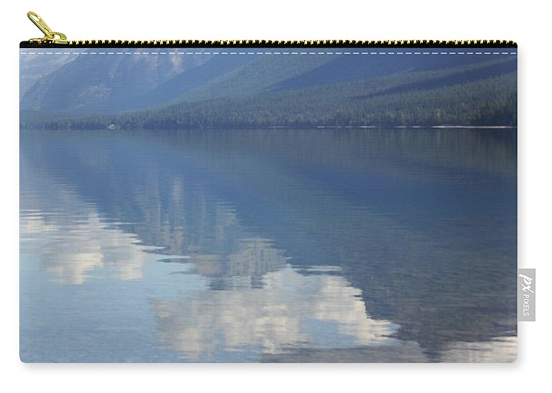 Lake Mcdonald Carry-all Pouch featuring the photograph Mcdonald Reflection by Marty Koch