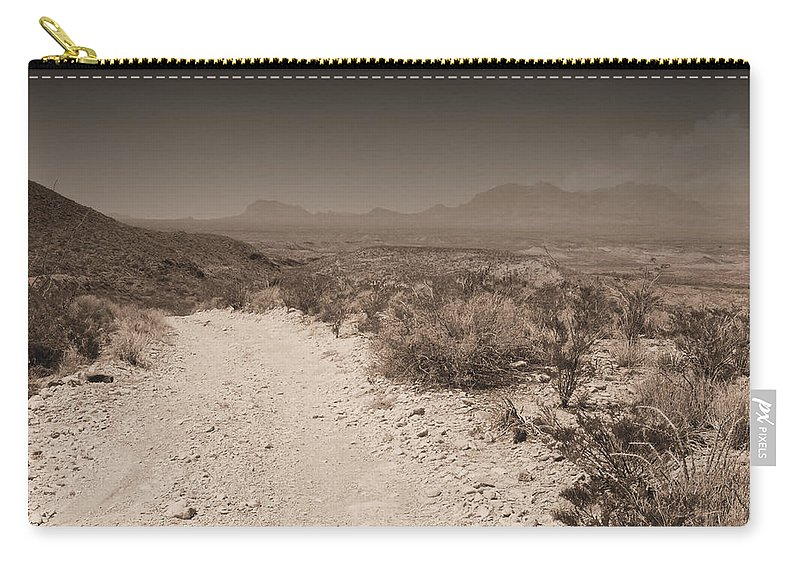 Big Carry-all Pouch featuring the photograph Mckinney Spring by Robert A Jones
