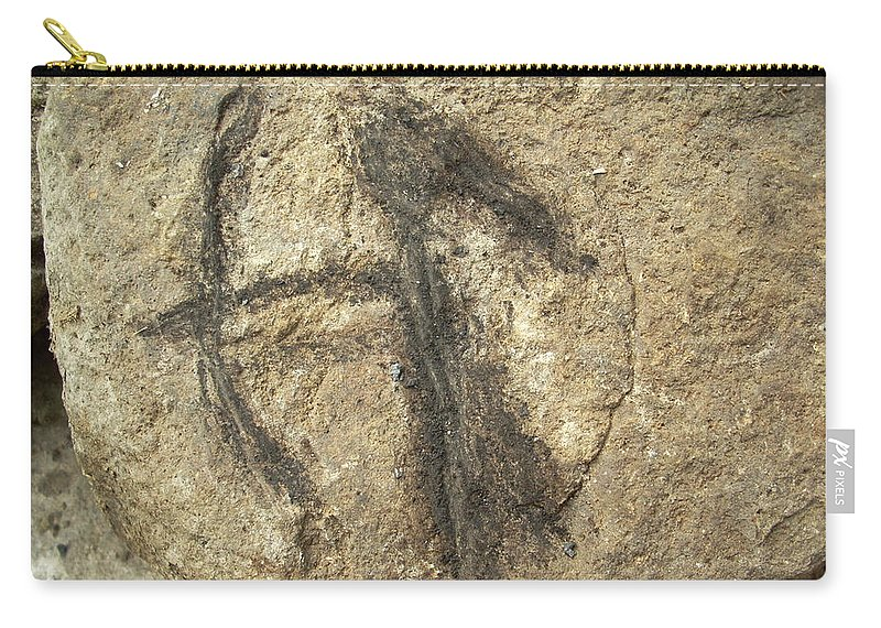 Rock Carry-all Pouch featuring the photograph me by Sara Stevenson