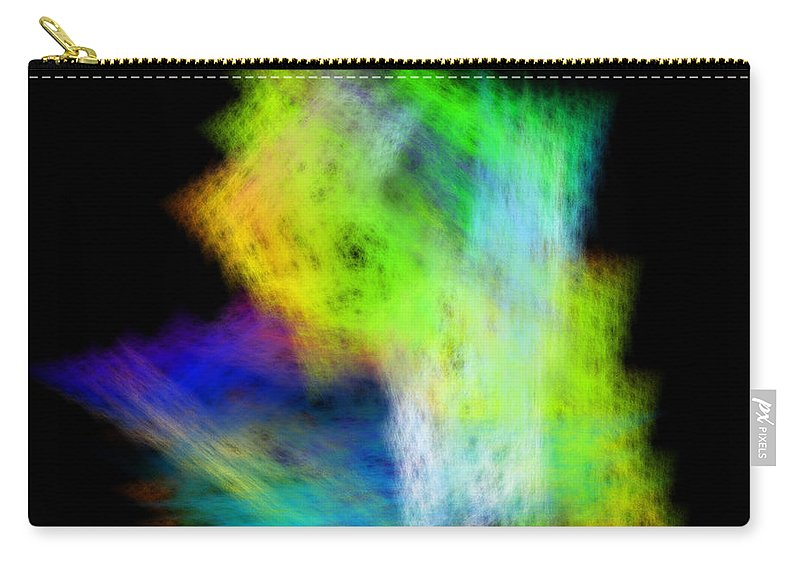Abstract Carry-all Pouch featuring the digital art Medictates by Andrew Kotlinski