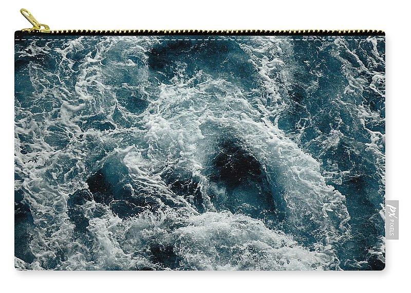 Mediterranean Sea Carry-all Pouch featuring the photograph Mediterranean Sea Art 112 by Richard Rosenshein