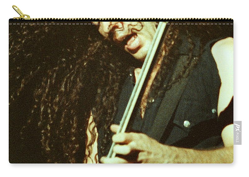 Megadeath Carry-all Pouch featuring the photograph Megadeath 93-marty-0372 by Timothy Bischoff