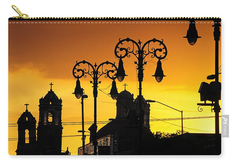 Skip Hunt Carry-all Pouch featuring the photograph Megiddo by Skip Hunt