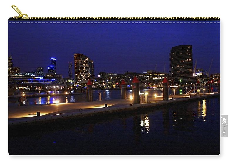 Melbourne Carry-all Pouch featuring the photograph Melbourne by Kathryn Potempski
