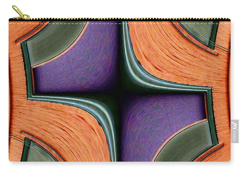 Windows Carry-all Pouch featuring the photograph Melded Windows by Tim Allen