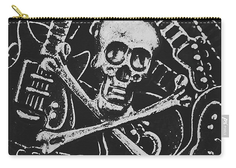Horror Carry-all Pouch featuring the photograph Melodic Death Metal by Jorgo Photography - Wall Art Gallery