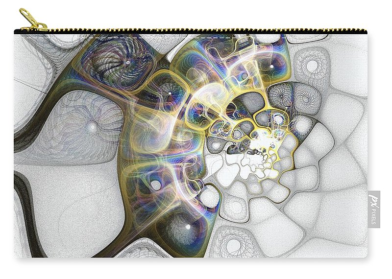 Digital Art Carry-all Pouch featuring the digital art Memories II by Amanda Moore