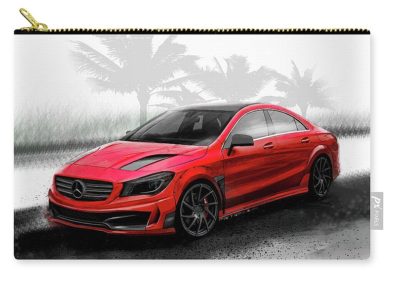 Mercedes-benz Cla Tuning Wide Body Kit Carry-all Pouch