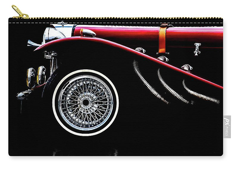 Car Carry-all Pouch featuring the photograph Mercedes Benz Ssk by Bob Orsillo