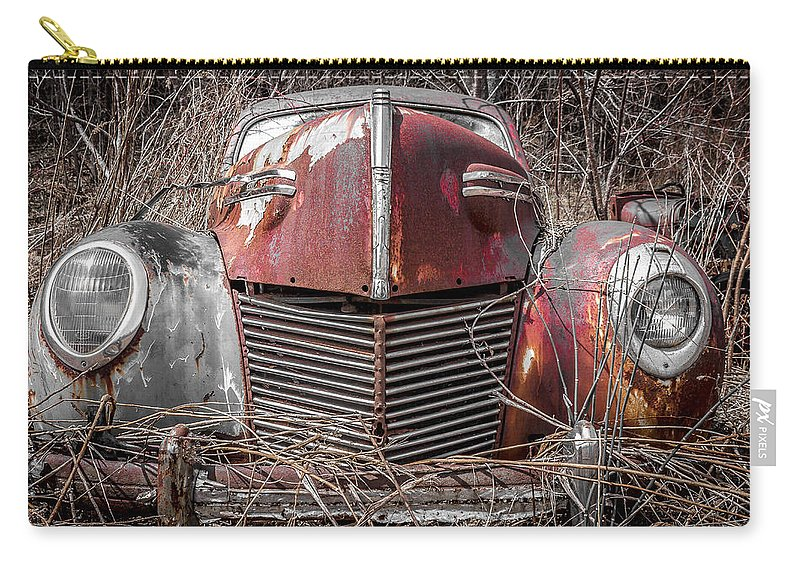 Mercury 8 Carry-all Pouch featuring the photograph Mercury 8 by Tim Kirchoff
