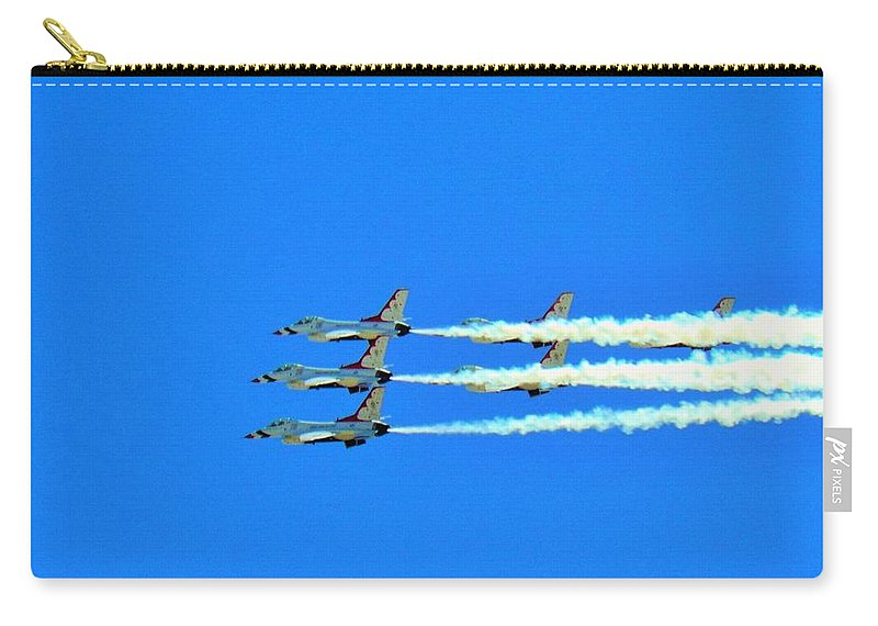 Aircraft Carry-all Pouch featuring the photograph Merica by Carl Miller