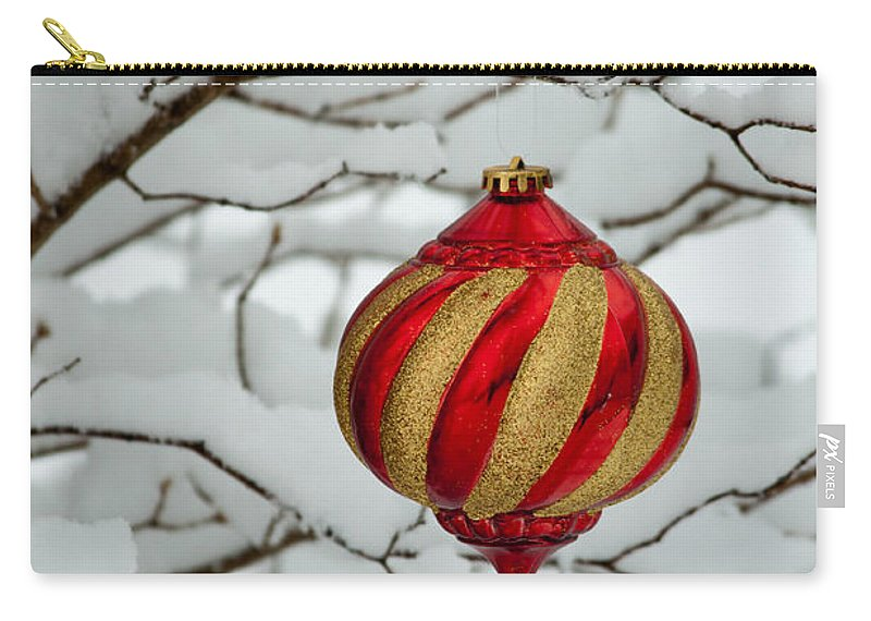 Christmas Carry-all Pouch featuring the photograph Merry Christmas by Gaby Swanson