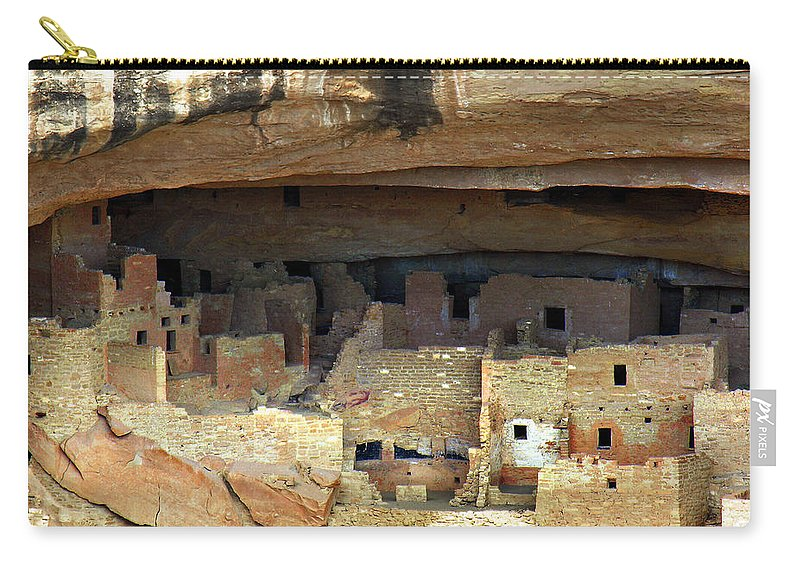 Americana Carry-all Pouch featuring the photograph Mesa Verde by Marilyn Hunt