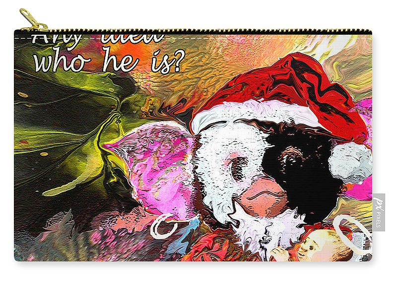 Fantasy Painting Carry-all Pouch featuring the painting Messiah Found by Miki De Goodaboom