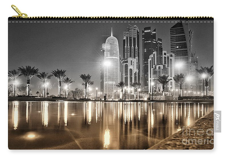 Doha Carry-all Pouch featuring the photograph Metal On Metal by David Herrera