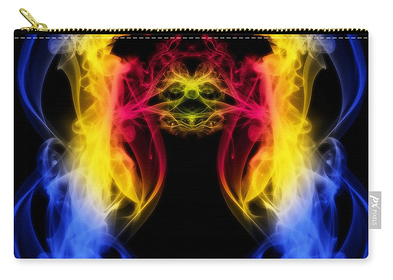 Clay Carry-all Pouch featuring the digital art Metamorphis by Clayton Bruster