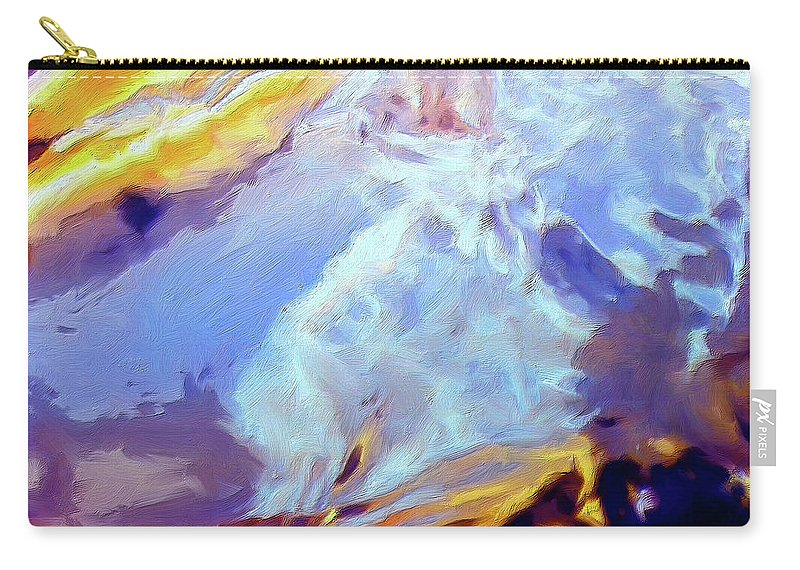 Abstract Carry-all Pouch featuring the painting Metamorphosis by Dominic Piperata