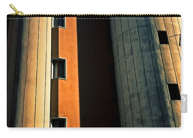 Metropolis Carry-all Pouch featuring the photograph Metropolis by Silvia Ganora