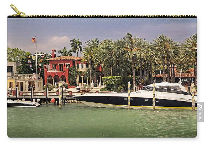 Miami Carry-all Pouch featuring the photograph Miami Style by Steven Sparks