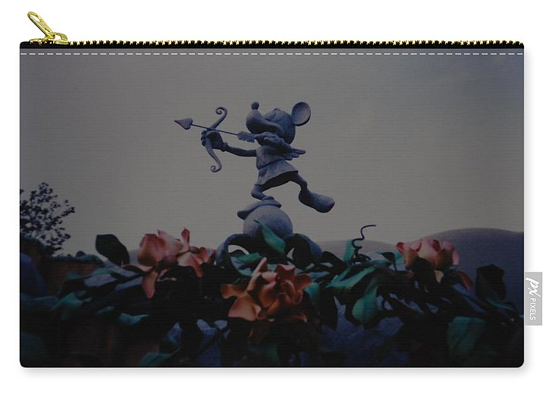 Micky Mouse Carry-all Pouch featuring the photograph Mickey Mouse by Rob Hans