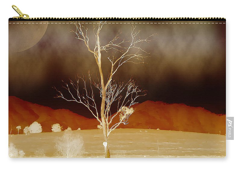 Landscapes Carry-all Pouch featuring the photograph Midnight Vogue by Holly Kempe