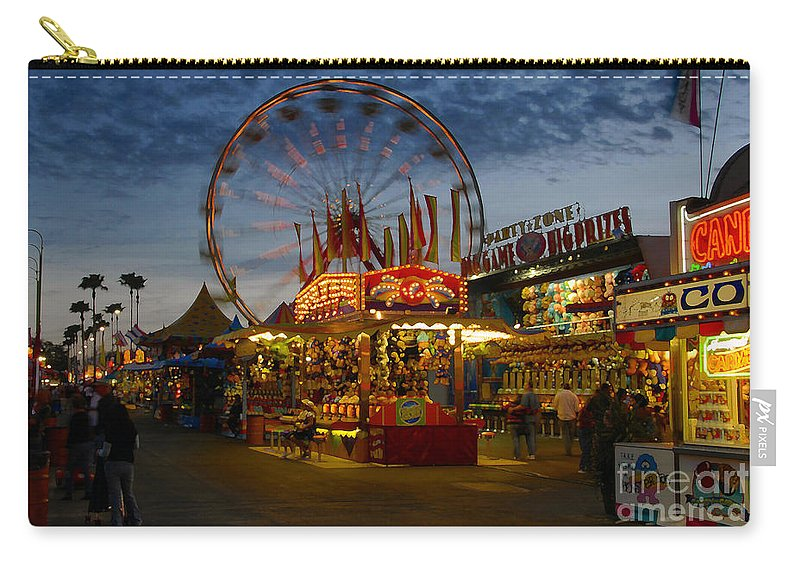 Midway Carry-all Pouch featuring the photograph Midway by David Lee Thompson