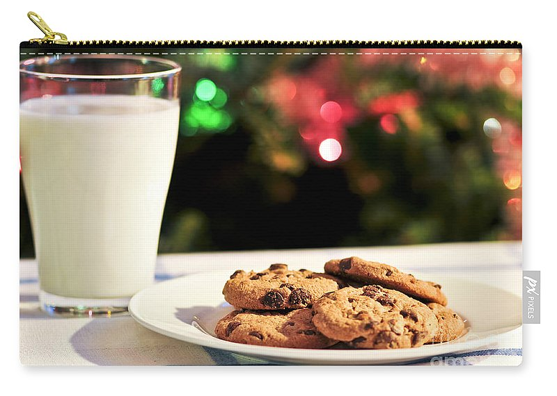 Milk And Cookies For Santa Carry All Pouch