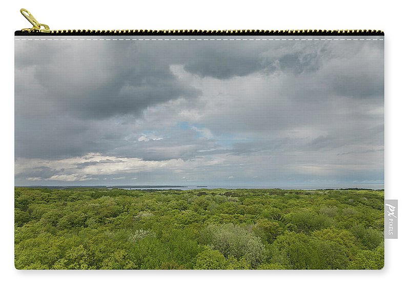 Big Carry-all Pouch featuring the photograph Mille Lacs Tower View 1 by John Brueske