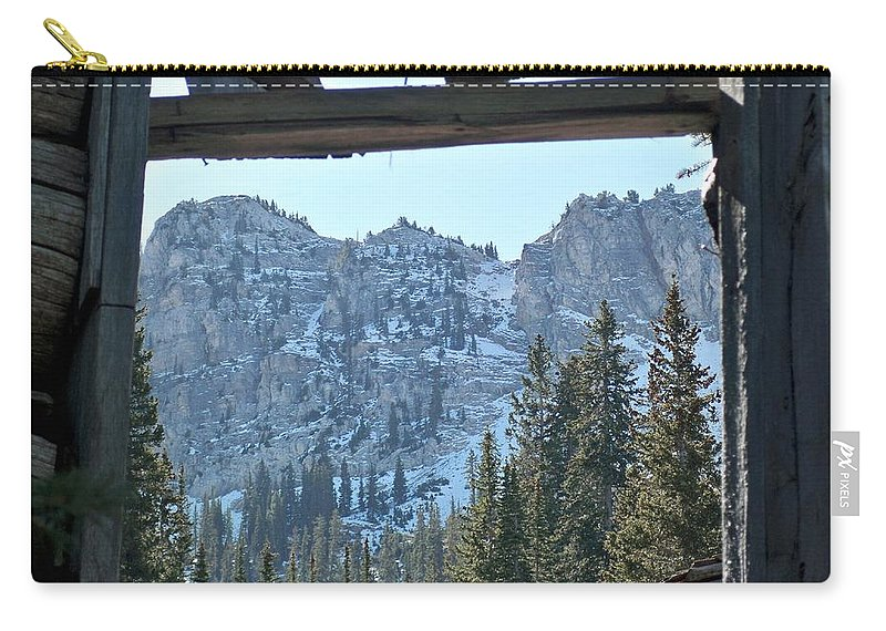 Mountain Carry-all Pouch featuring the photograph Miners Lost View by Michael Cuozzo