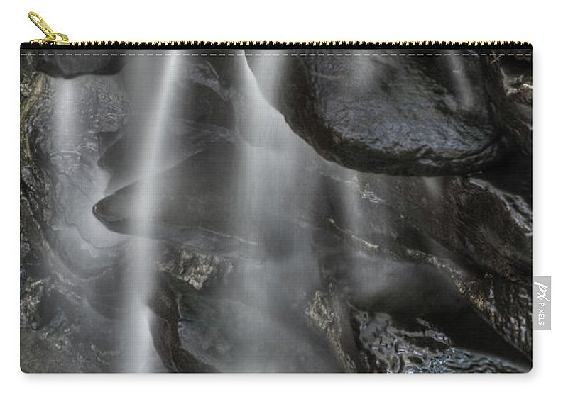 Flower Carry-all Pouch featuring the photograph Mini Waterfall by MotionOne Studios