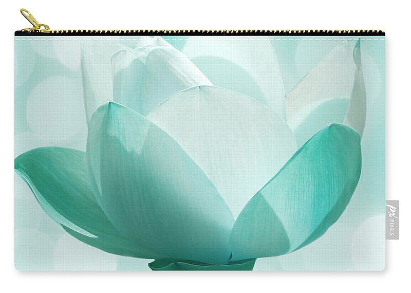 Lotus Carry-all Pouch featuring the photograph Mint by Jacky Gerritsen