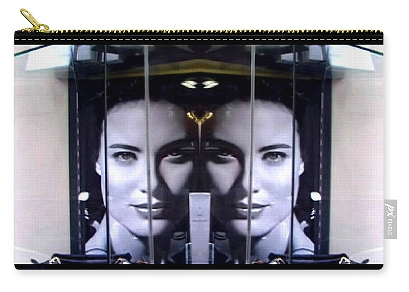 Dream Carry-all Pouch featuring the photograph Mirror Image by Charles Stuart