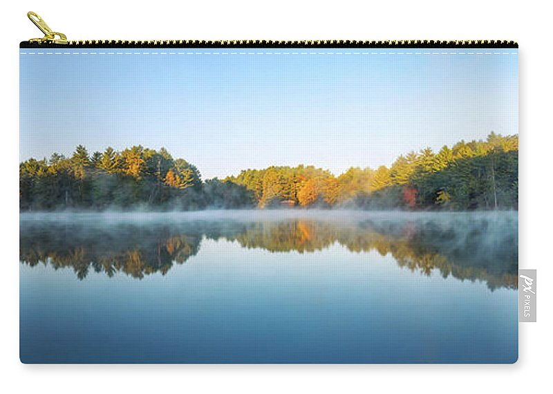 Mirror Lake State Park Carry-all Pouch featuring the photograph Mirror Lake by Scott Norris