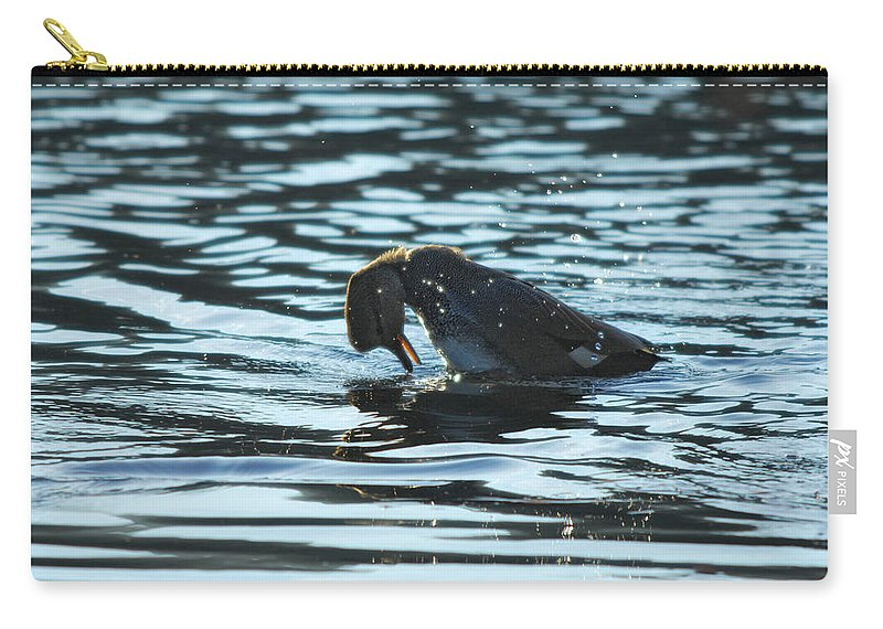 Lake Carry-all Pouch featuring the photograph Mirror Mirror by Donna Blackhall