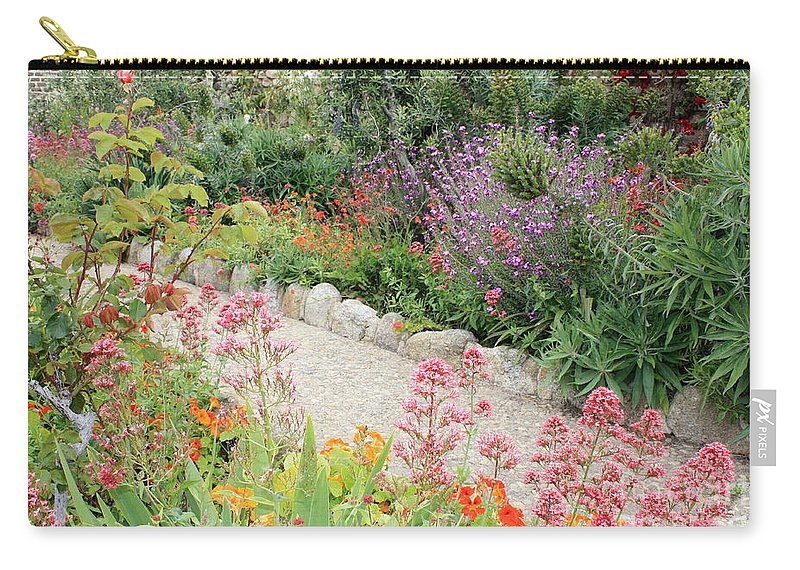 Garden Carry-all Pouch featuring the photograph Mission Garden by Carol Groenen