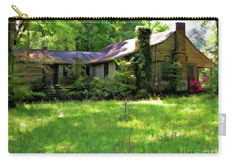 Photography Carry-all Pouch featuring the photograph Mississippi Country Place by Kathleen K Parker