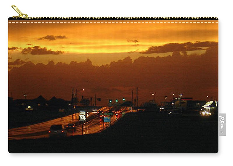 Landscape Carry-all Pouch featuring the photograph Missouri 291 by Steve Karol