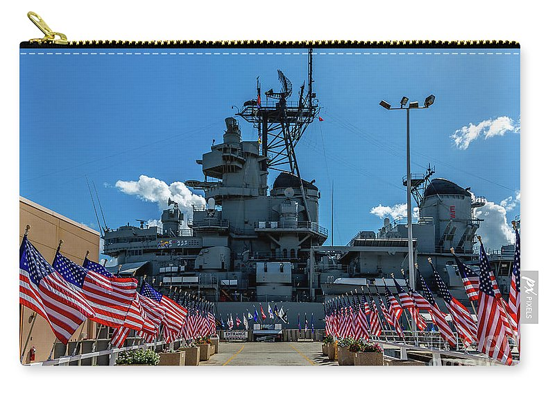 Jon Burch Carry-all Pouch featuring the photograph Missouri Exhibit Entrance by Jon Burch Photography