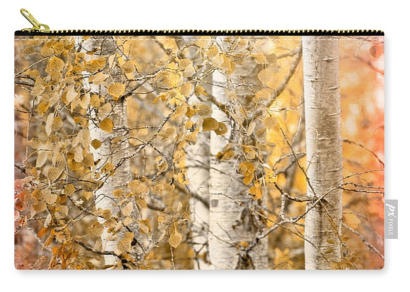 Country Carry-all Pouch featuring the photograph Misted by Beve Brown-Clark Photography